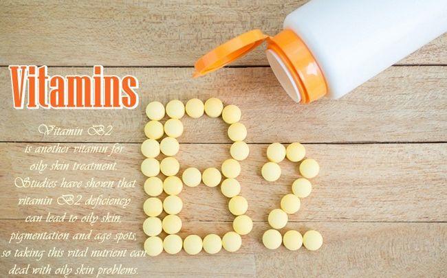 vitaminas para controlar a pele oleosa - vitamina B2
