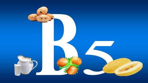 vitaminas para a pele oleosa-vitamina B5