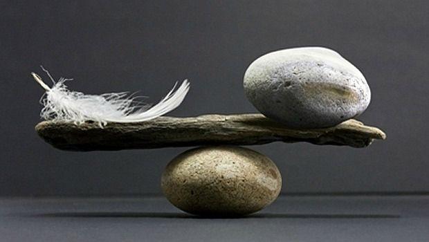 encontrar o equilíbrio