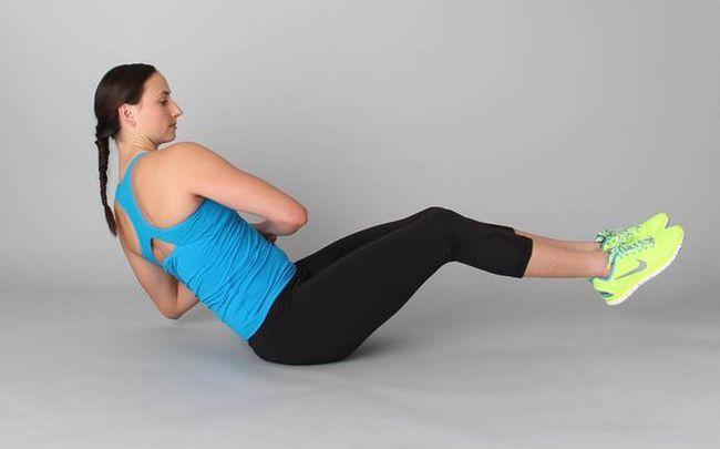 poses de ioga para a ciática - o único torção no joelho