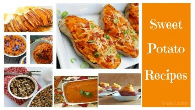 24 Receitas de batata-doce saudáveis - receitas fáceis de fazer em casa