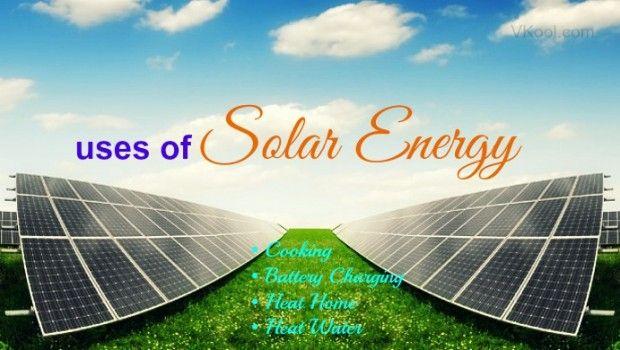 4 Os usos mais comuns de energia solar na vida diária