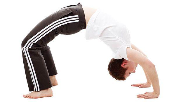 poses de ioga para melhor sexo - postura da ponte