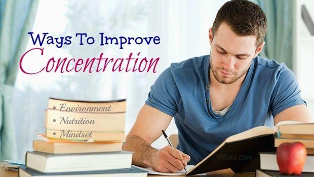 maneiras de melhorar a concentração