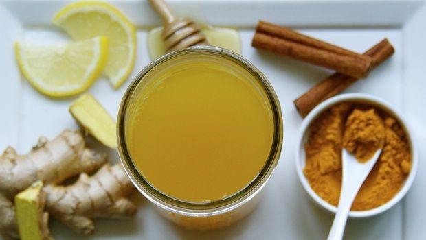 receitas de chá de açafrão - Chá básica açafrão