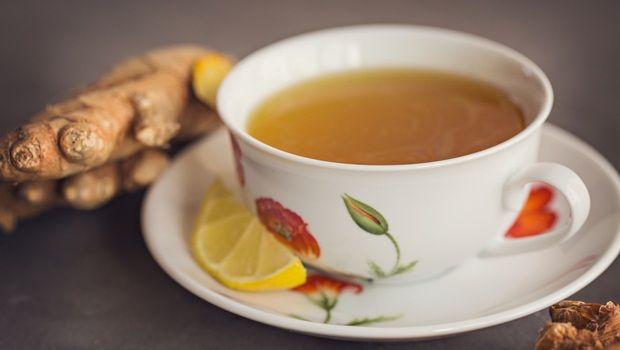 receitas de chá de açafrão - chá de limão açafrão
