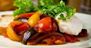 Idéias saudáveis do alimento de verão e receitas fáceis para o jantar