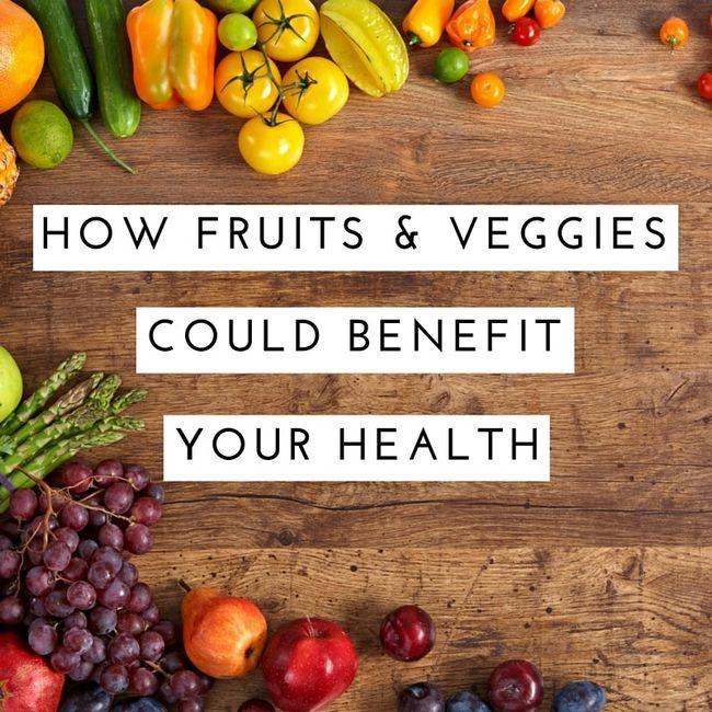 Como frutas e legumes poderia beneficiar a sua saúde