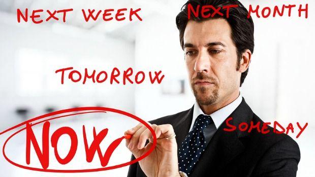 superar a procrastinação
