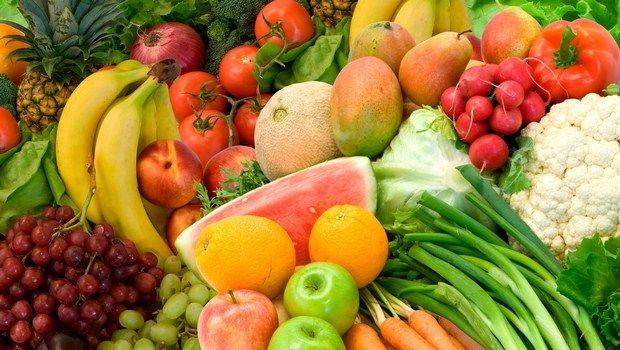como tratar frutas e vegetais psoríase-colorido