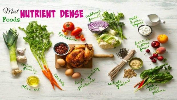 Lista de 10 alimentos densos mais nutrientes do planeta