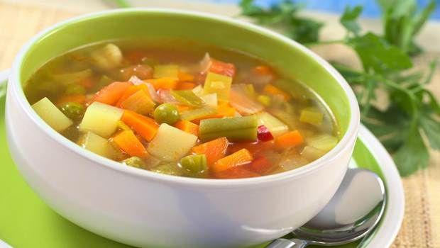 Lista de 18 melhores receitas de perda de peso sopa em sua dieta