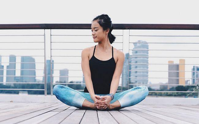 poses de ioga para melhorar o sexo - o ângulo limite