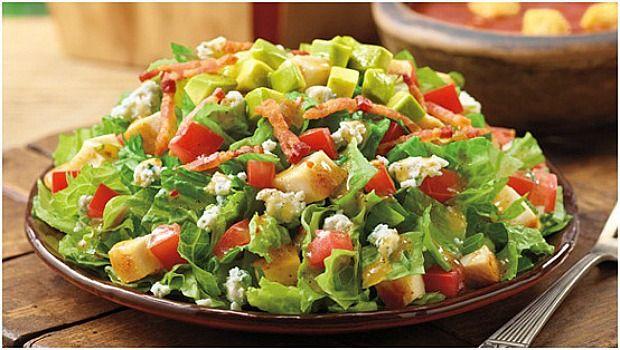 Comece cada refeição com uma tigela de salada de avaliação