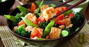 Grandes receitas vegetarianas superior para o jantar