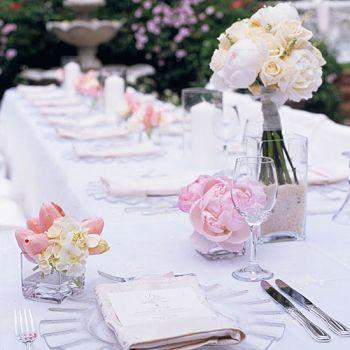 ideias de casamento em um orçamento com flores do casamento