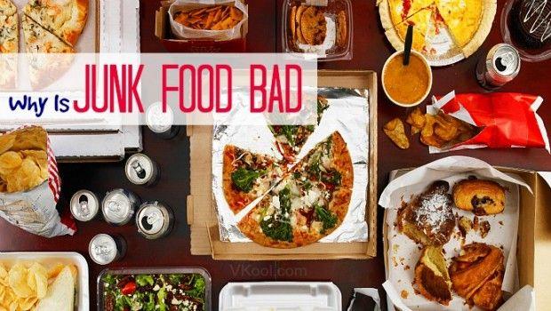 Por que é lixo comida ruim para você? - 11 razões